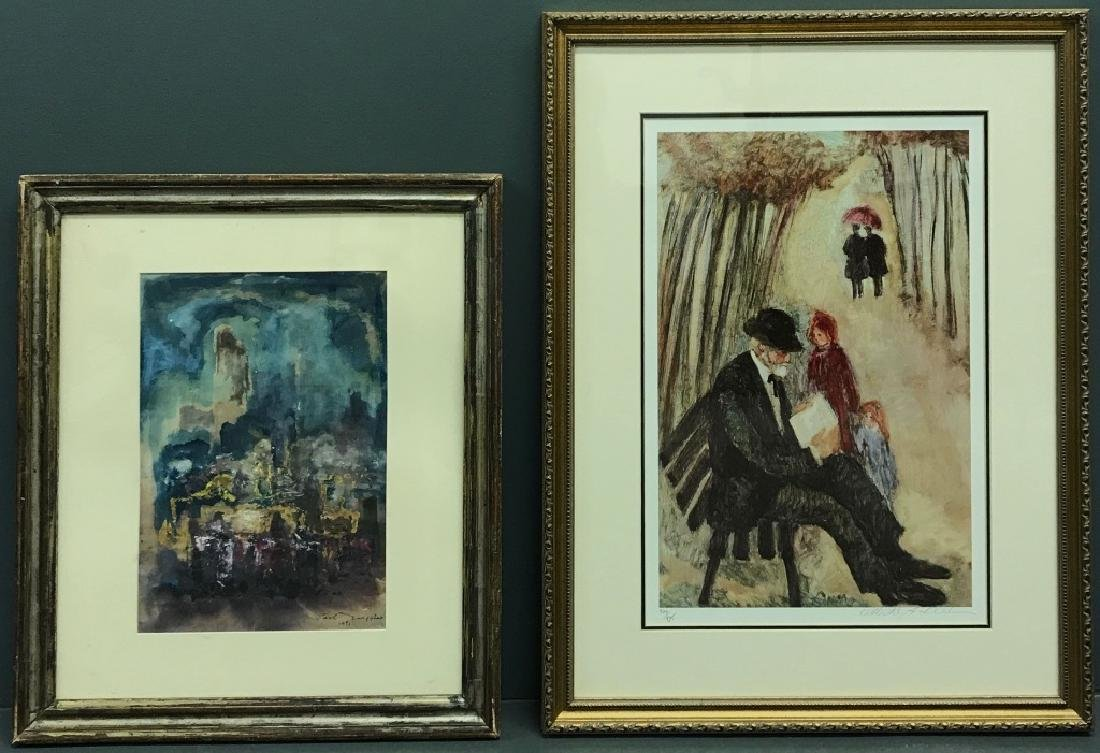 Carl Sprague Ruggles Impressionist Watercolor