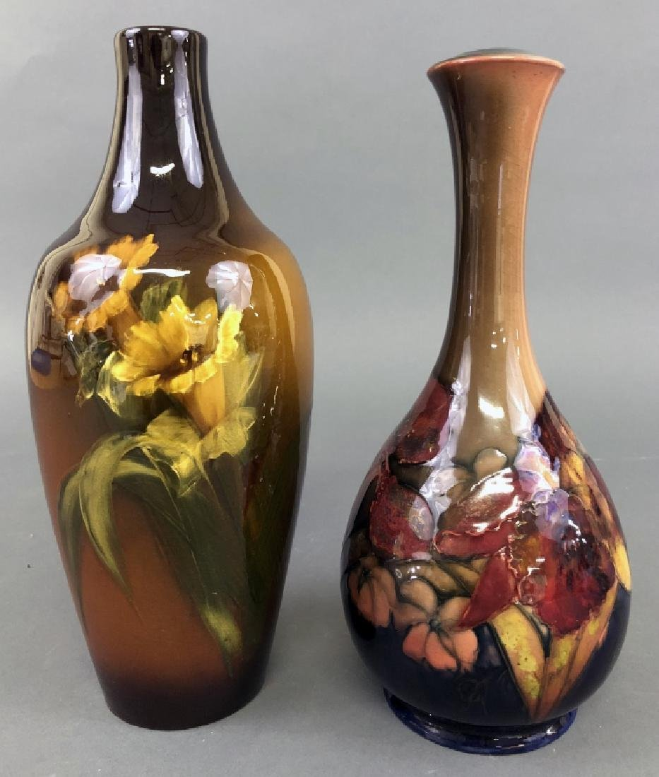 Two Art Pottery Vases