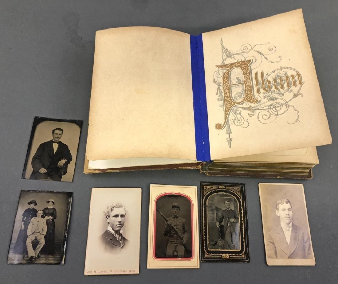 Leather Bound Family Photo Album