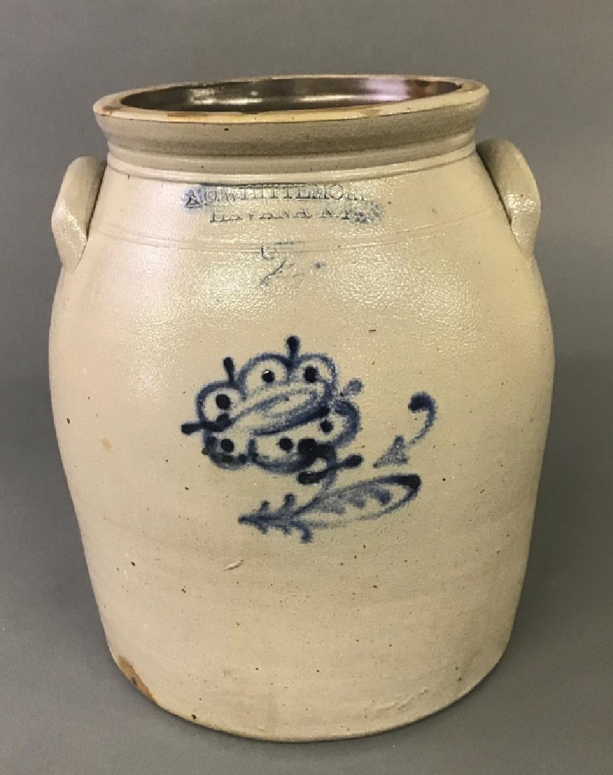 Two-Gallon Stoneware Crock