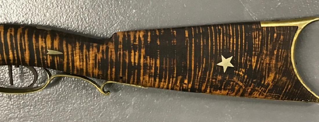 Maple Percussion Stock Rifle, 19th c - 6