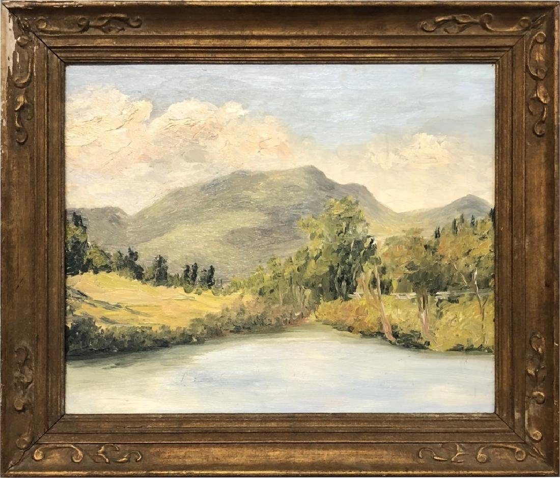 Mary Cable Butler Oil on Canvas
