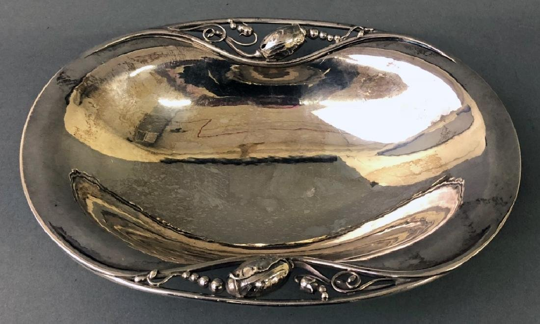 Georg Jensen Sterling Silver Dish