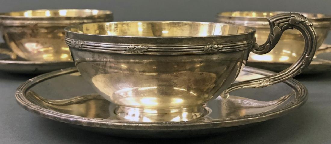 Three Christofle Cups & Saucers - 2