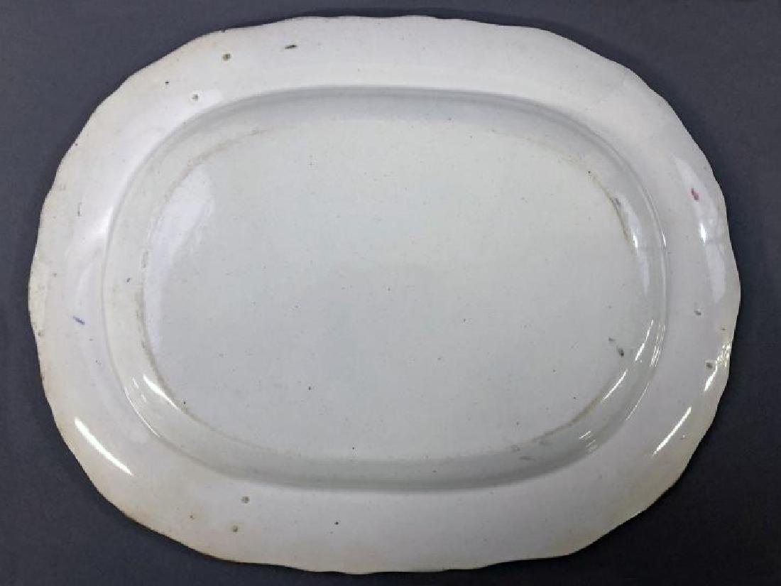 Pottery Plates and Small Platter - 3