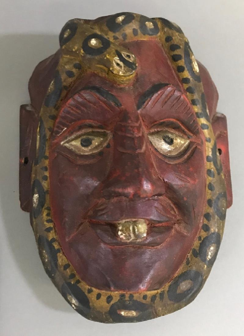 Victorian Wall Pocket, Mandolines, and a Mask - 2