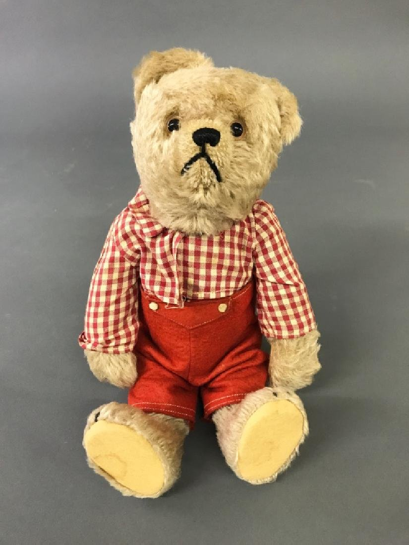 Mohair Bear with Turning Head