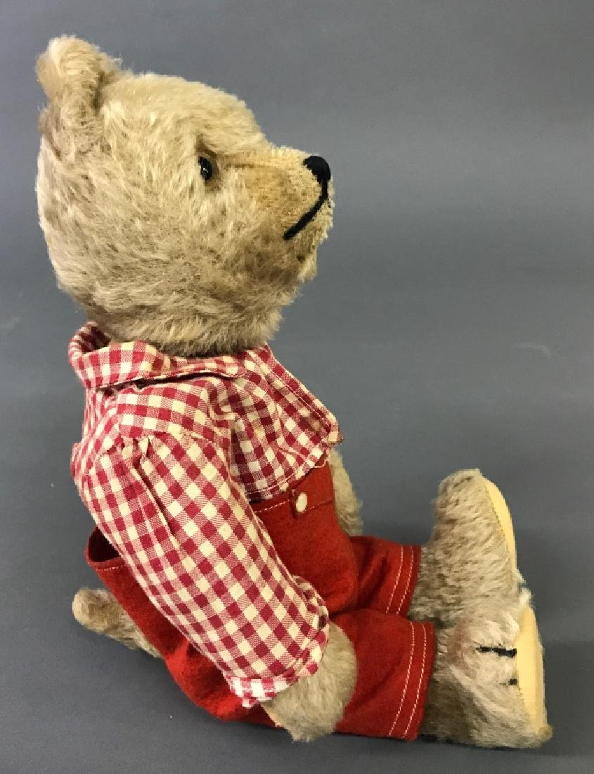 Mohair Bear with Turning Head - 2