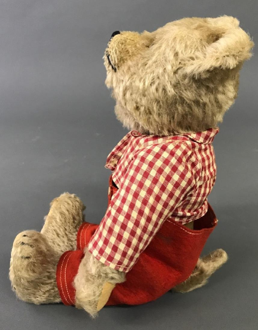 Mohair Bear with Turning Head - 3