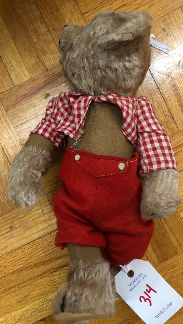 Mohair Bear with Turning Head - 4