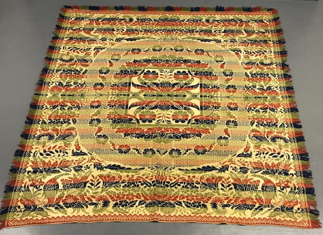 Lindsey Woolsey Coverlet - 2