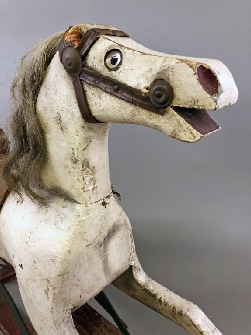 Wood Rocking Horse - 2