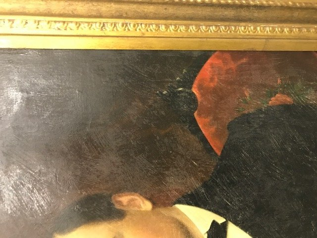 Robert Street Pair of Oil on Canvas Portraits - 12