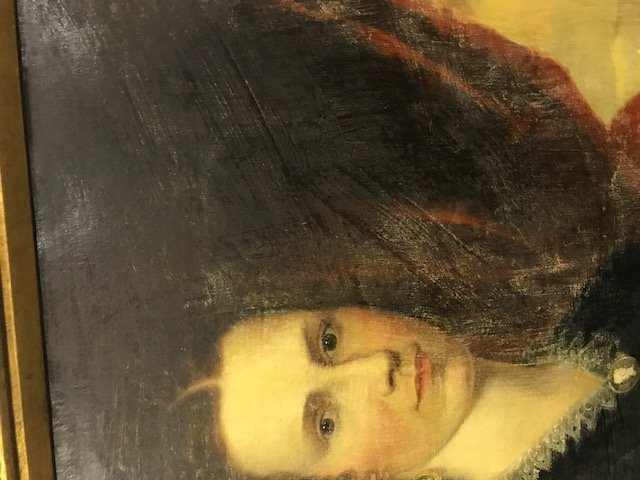 Robert Street Pair of Oil on Canvas Portraits - 14