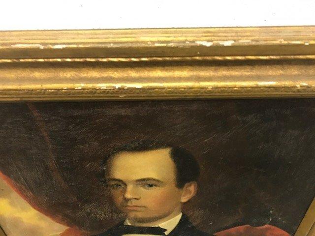 Robert Street Pair of Oil on Canvas Portraits - 15