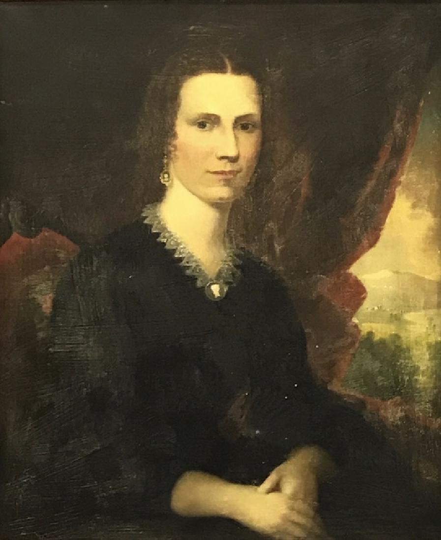 Robert Street Pair of Oil on Canvas Portraits - 3