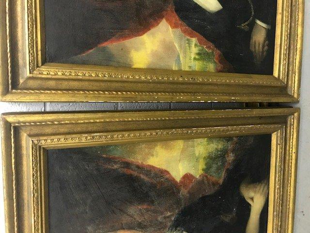 Robert Street Pair of Oil on Canvas Portraits - 8