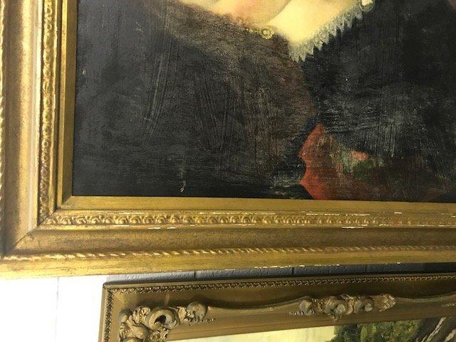Robert Street Pair of Oil on Canvas Portraits - 9