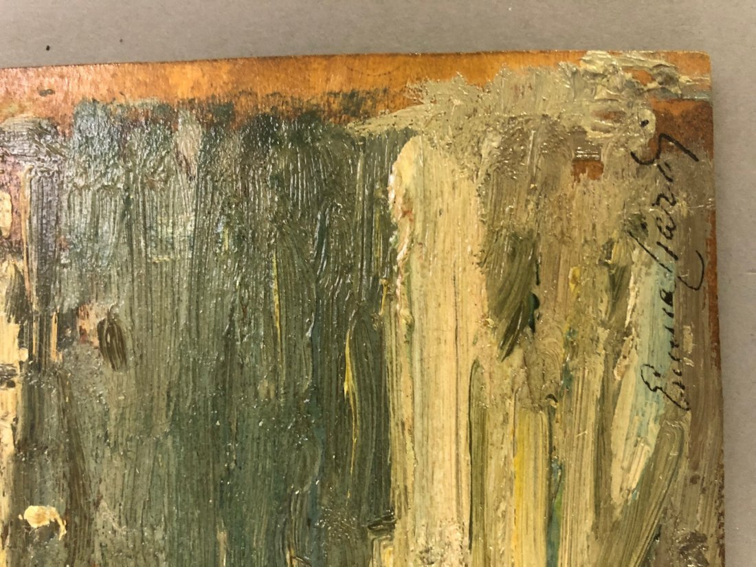Emma Ciardi Oil on Board of Venice Waterscape - 5
