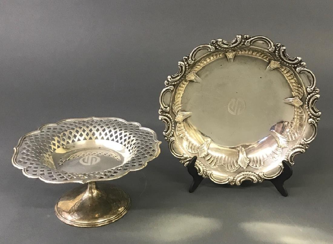 Sterling Silver Compote and Bowl