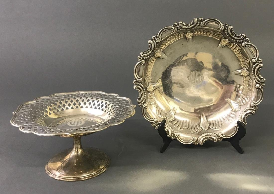 Sterling Silver Compote and Bowl - 2