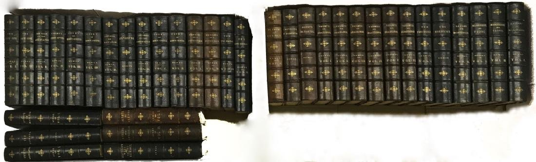 Thirsty-Six Leather Books by Alexander Dumas