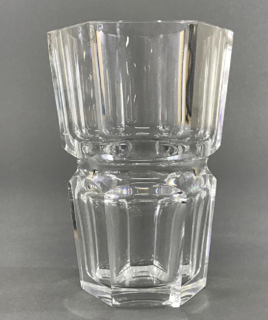 Baccarat Crystal Six-Sided Vase - 2