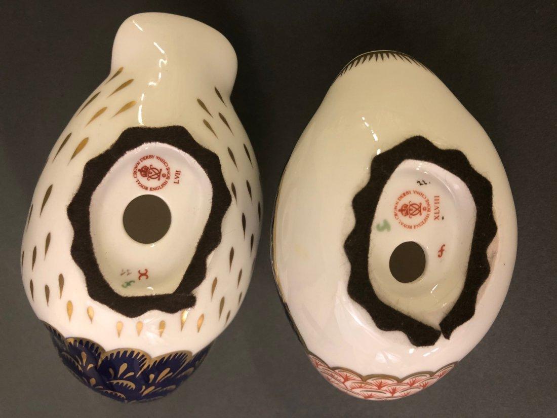 Eight Royal Crown Derby Porcelain Figures - 6