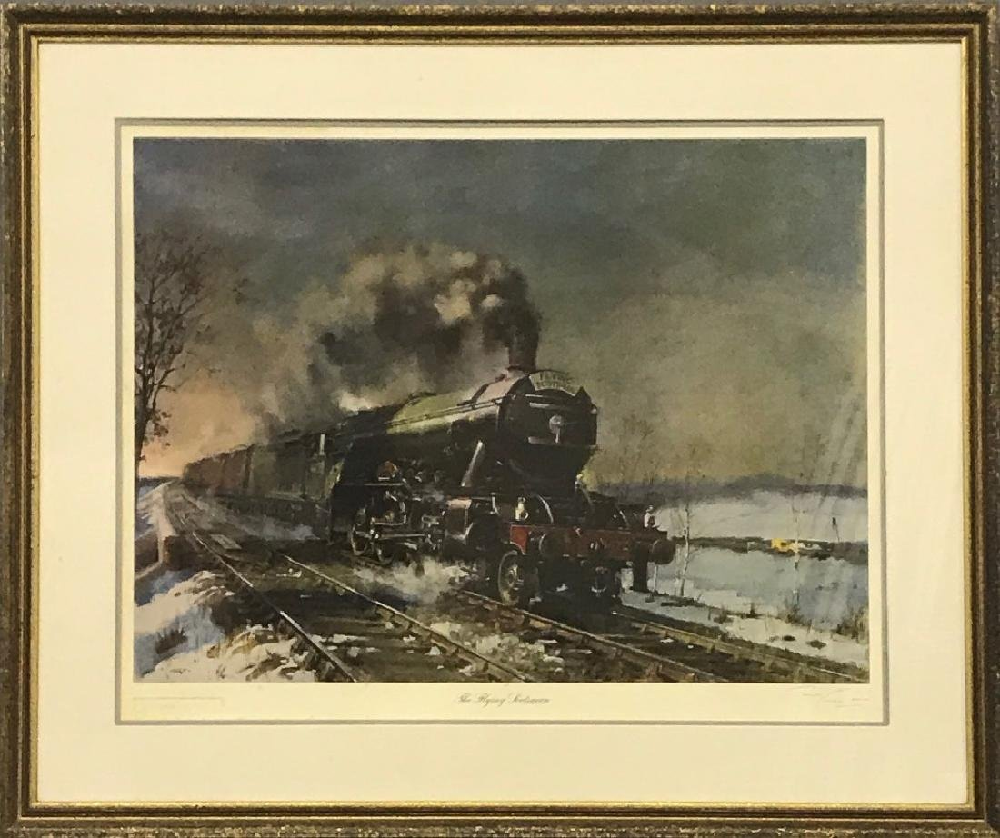 """Limited Edition Print of """"The Flying Scotsman"""""""
