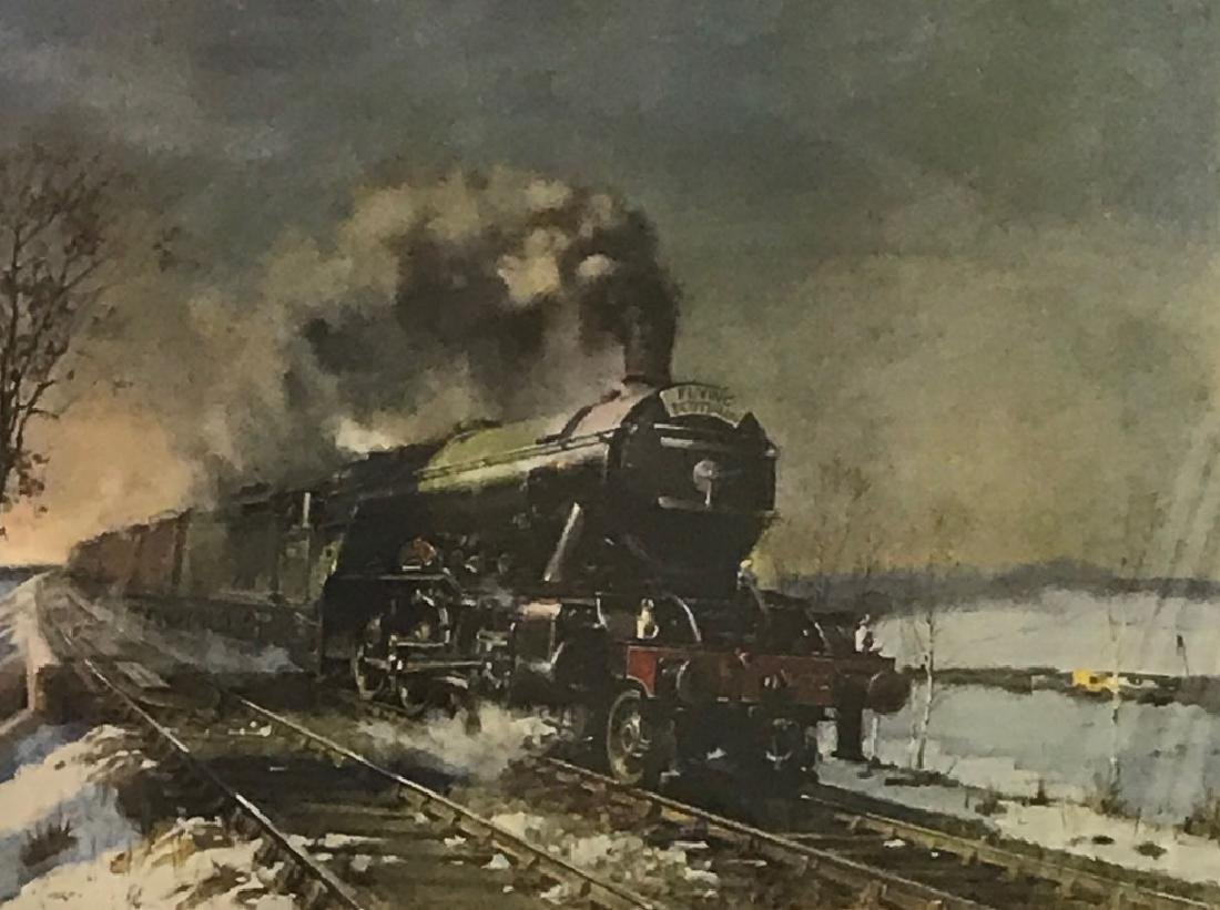 """Limited Edition Print of """"The Flying Scotsman"""" - 2"""