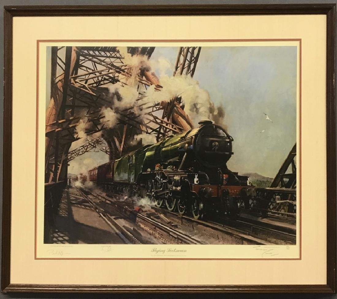 Limited Print of The Flying Scotsman