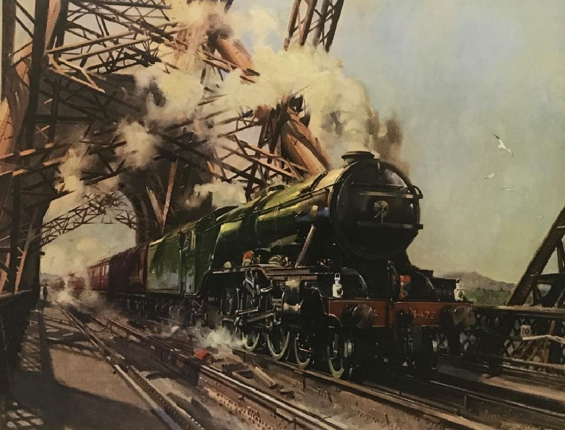 Limited Print of The Flying Scotsman - 2