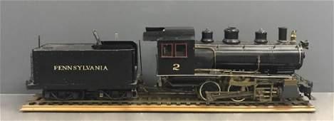 Live Steam 0-6-0 Locomotive