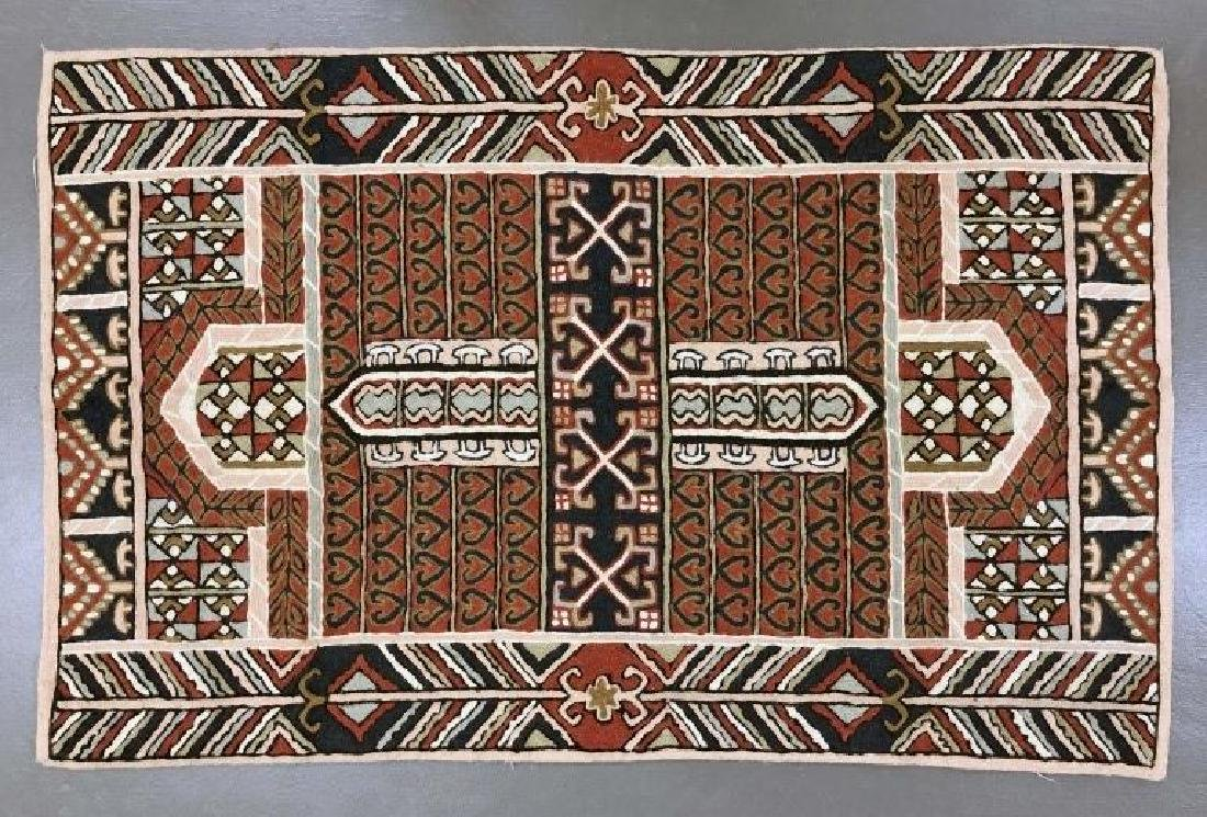 Tribal Geometric Rug or Wall Hanging