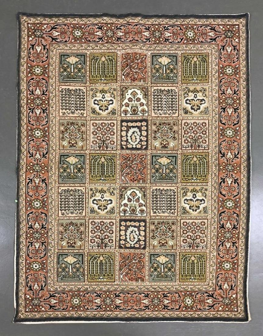 Floral Rug or Wall Hanging