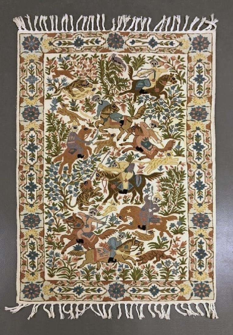 Pictorial Rug or Wall Hanging