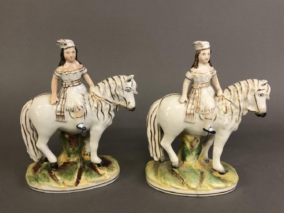 Pair of  Staffordshire Figures the Royal Children