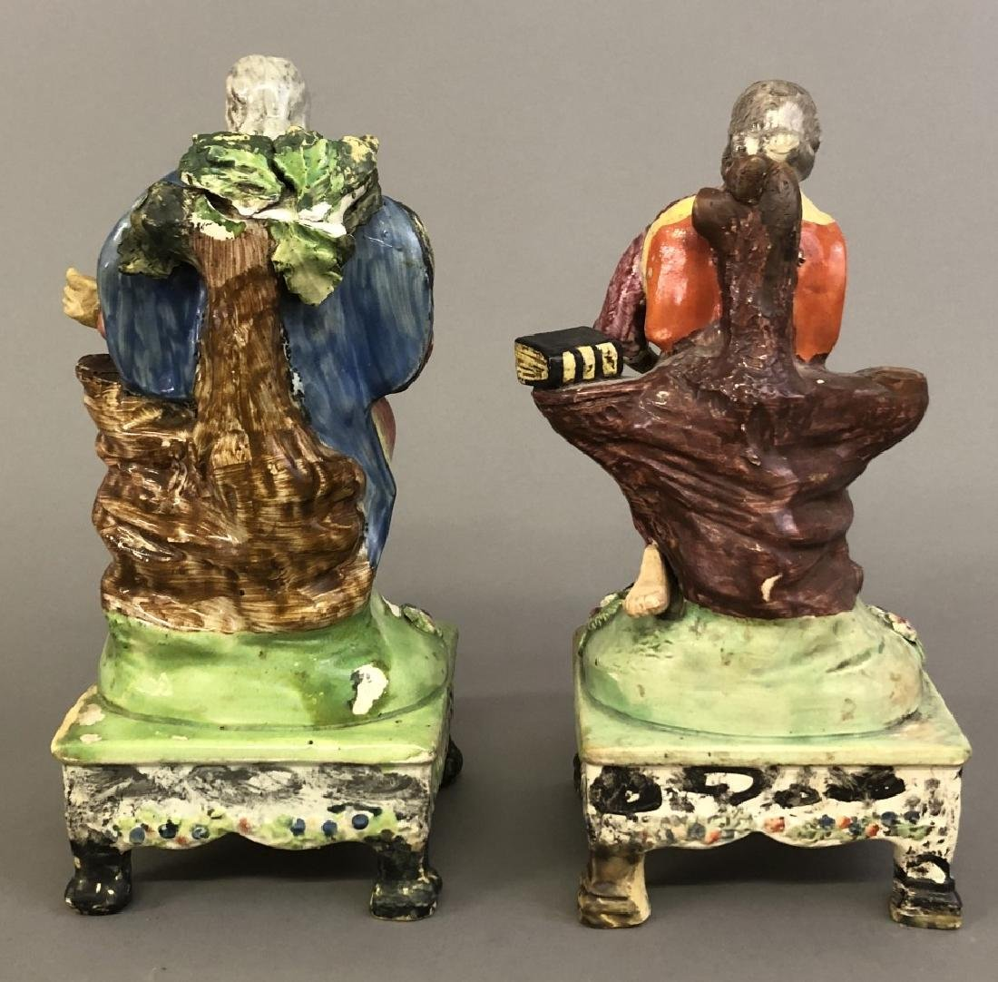 Early Staffordshire Figures St. Peter & St. Paul - 4