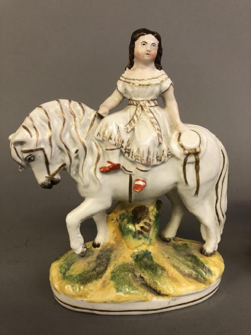 Pair of Staffordshire Figures the Royal Children - 2