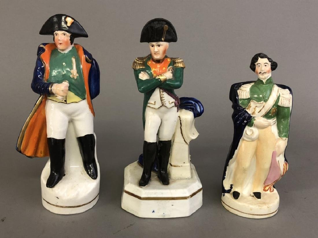 Three Staffordshire Figures