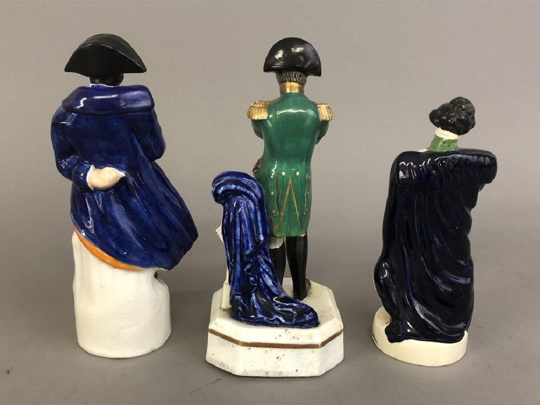 Three Staffordshire Figures - 2