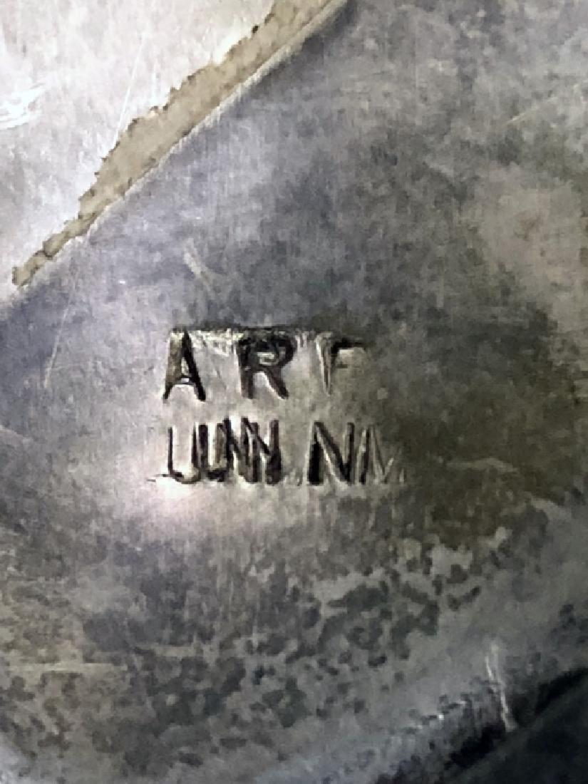 Pinto Zuni Mosaic Inlay & Silver Cuff Bracelet - 6