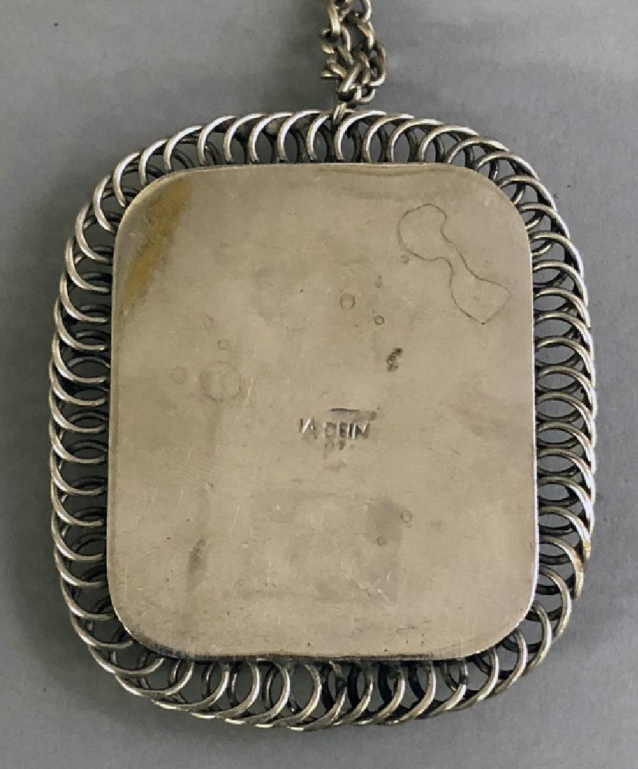Silver Scarab Pendant - 3