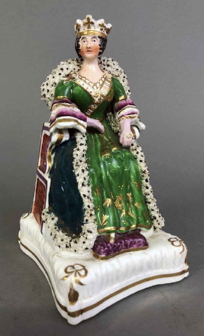 Early Staffordshire Figure of Queen Victoria