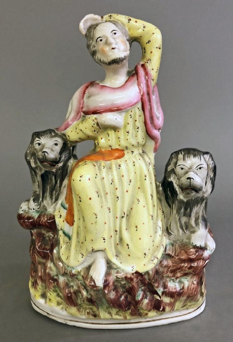 Staffordshire Figure of Daniel