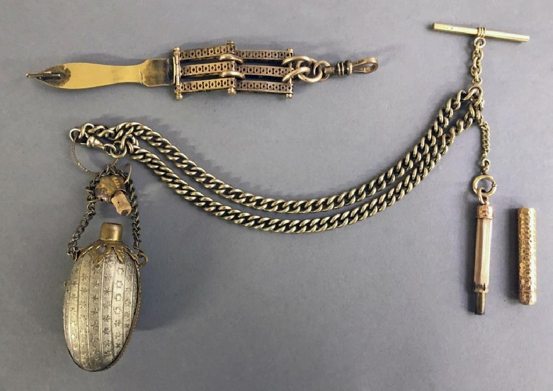 Gold Filled Watch Fob - 2