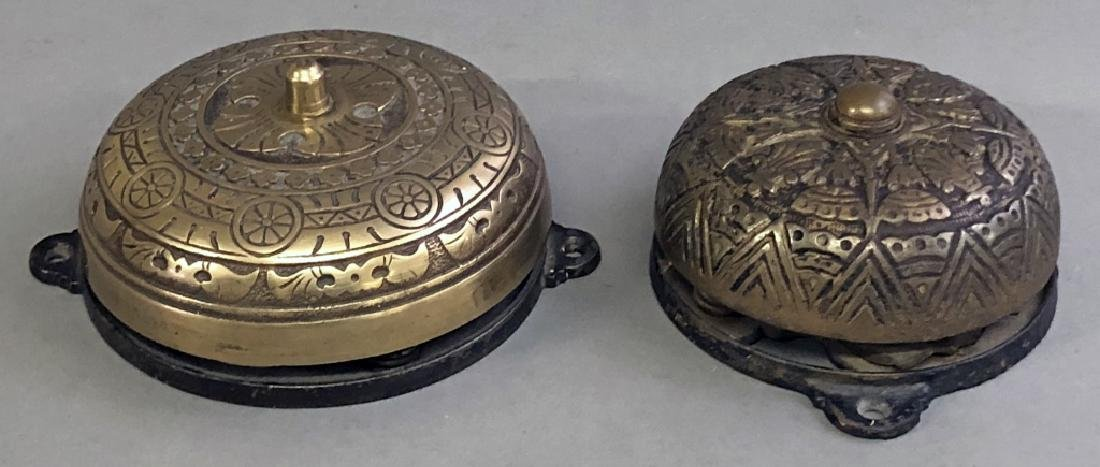Two Victorian Wall Mounted Bells