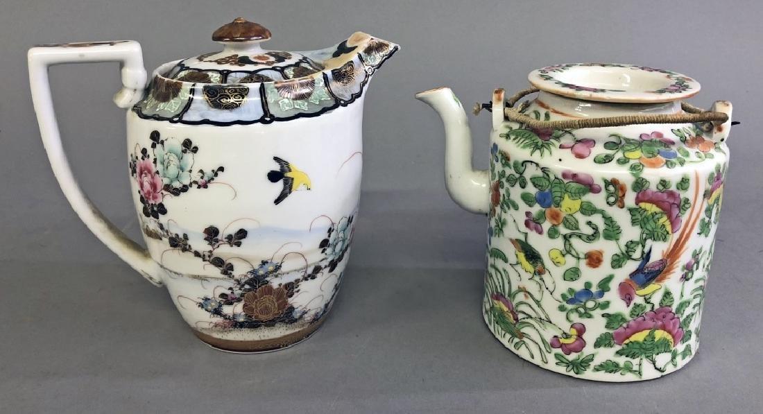 Two Asian Porcelain Teapots