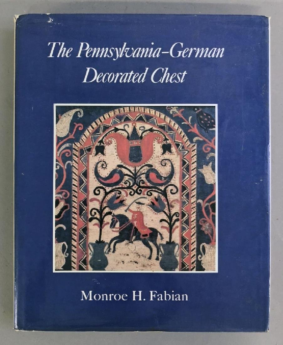 "Book ""The Pennsylvania German Decorated Chest"""
