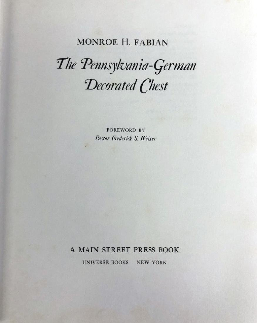 "Book ""The Pennsylvania German Decorated Chest"" - 2"